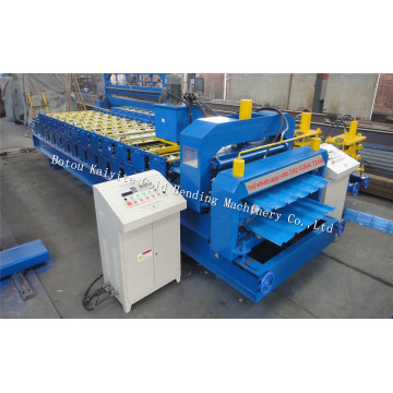Double Layer Glazed And IBR Roof Tile Machine