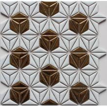Flower Pattern Ceramic Mosaic Tile