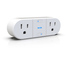 American standard double individual output WIFI smart socket