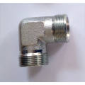 90Degree Elbow Fittings Hydraulic Bite Type Tube Adapter
