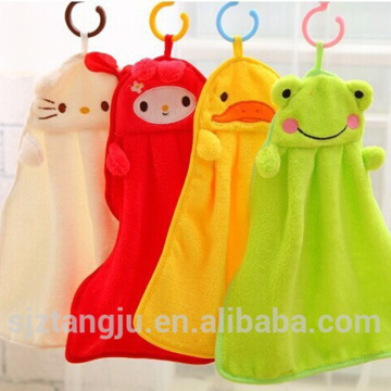 cute color hanging towel hand towel