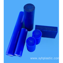 Blue Mc Cast Nylon Round Bar