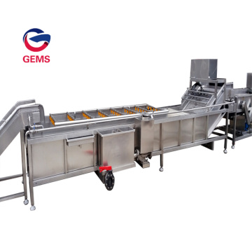 Steam Heating Potato Chips Yam Blanching Machine