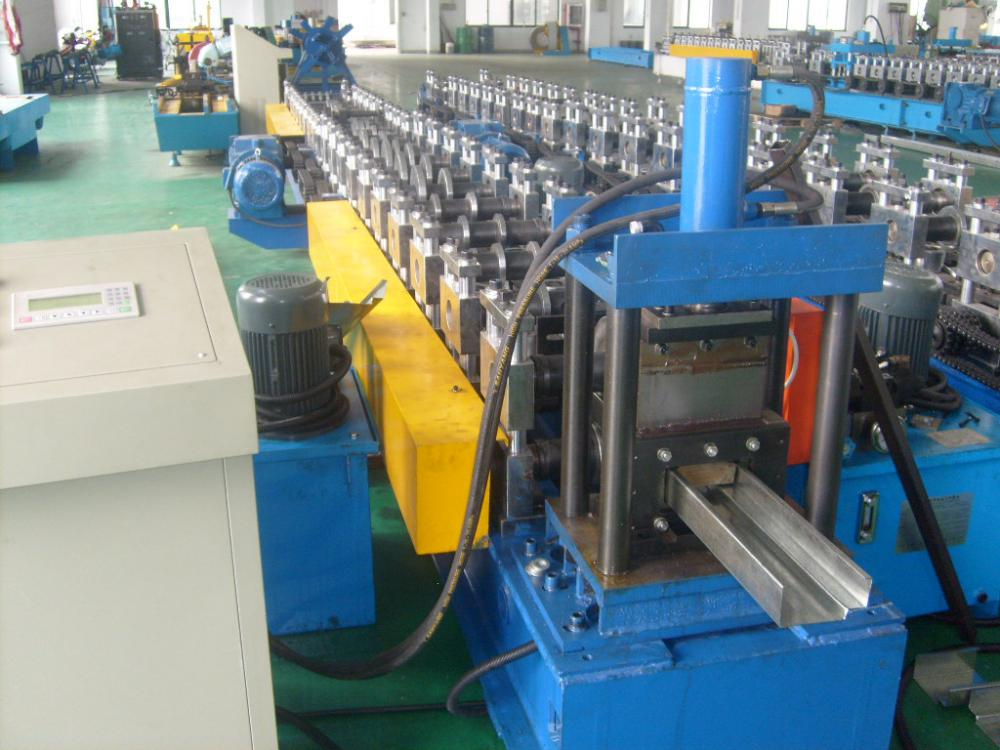 YIBO Steel Door Frame Roll Forming Making Machines
