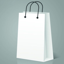 Luxury Customized Stone Paper Bag for Clothes