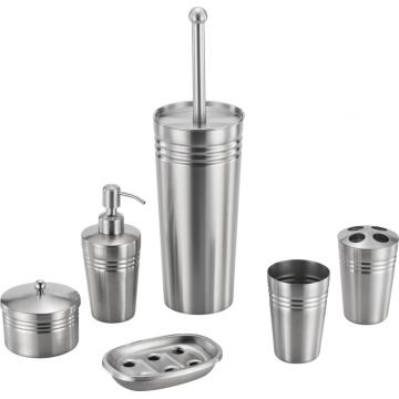 Roundness Stainless Steel Bathroom Accessory Set