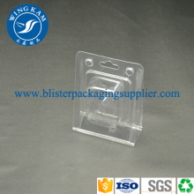 Plastic Custom Standing Clamshell Packaging