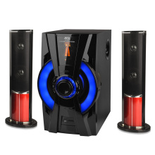Customized for China Manufacturer of 2.1 Stereo Speaker,2.1 Speaker,2.1 Multimedia Speaker System,2.1 Bluetooth Speaker FM radio wood blue tooth speaker export to South Korea Wholesale