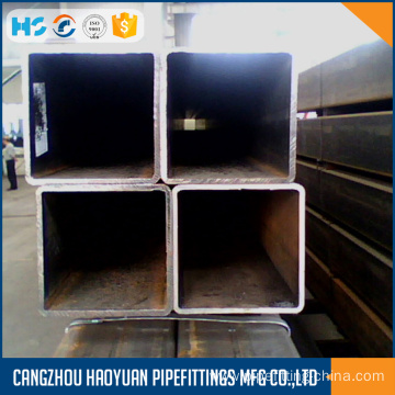Carbon material square steel tubing sch40