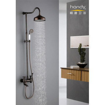 Brass European Classical Rainfall Shower Set