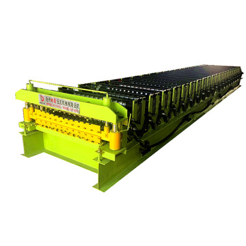 Galvanized double layer ibr roll forming machine