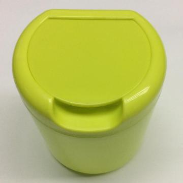 Plastic mini round garbage storage box