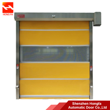 Cheap for Large PVC High Speed Door Automatic PVC Roller Shutter Door with Galvanized Frame export to Lesotho Importers