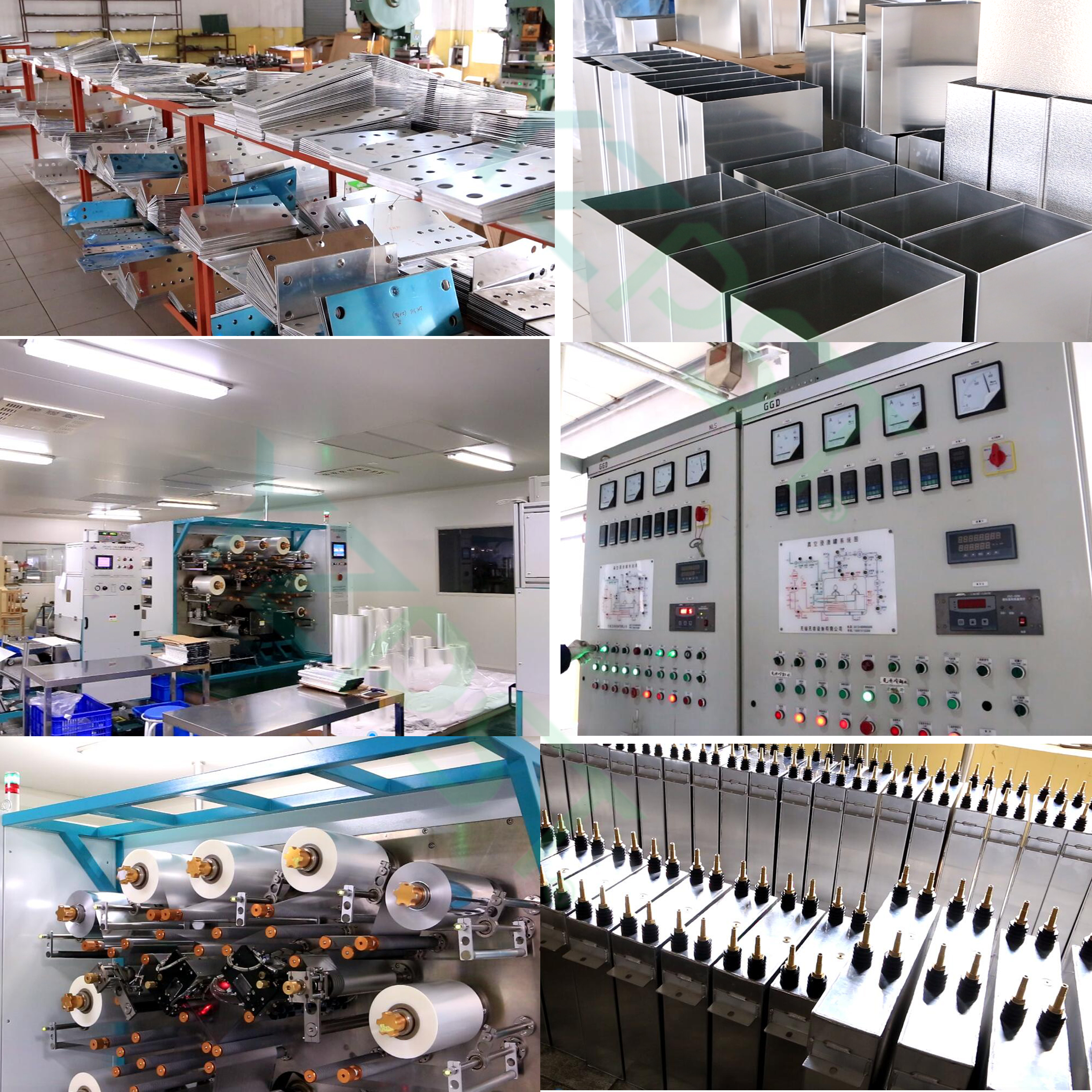 Production site of Capacitors