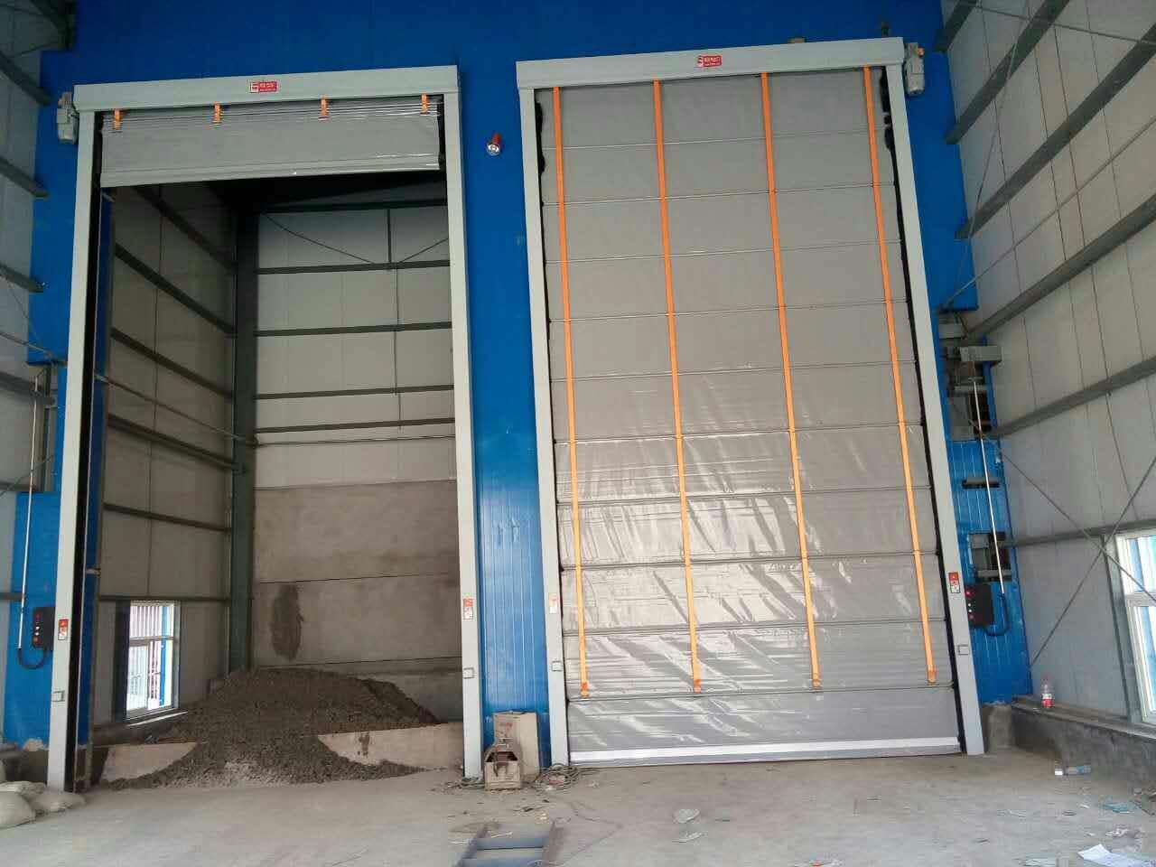 Stacking High Speed Door
