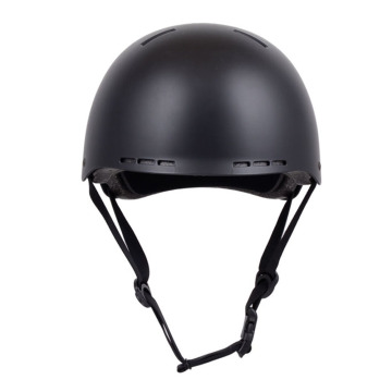China Exporter for Cool Skateboard Helmets Black PC&ABS Size M ice Skating Bike Helmet supply to United States Supplier