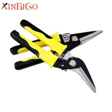 Multi Function Tin Snips Electrician Cable Cutting Scissors