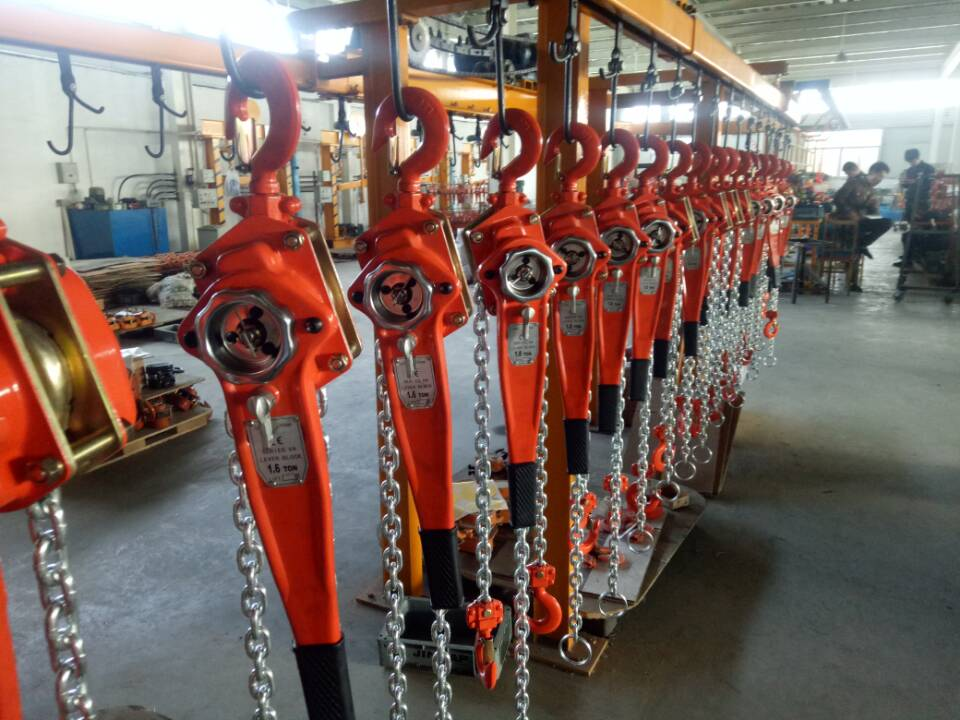 1.5ton lever blocks