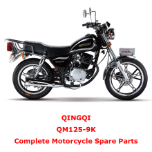 QINGQI QM125-9K Complete Motorcycle Spare Parts