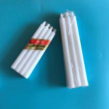 8x65 pack white bougie candle making