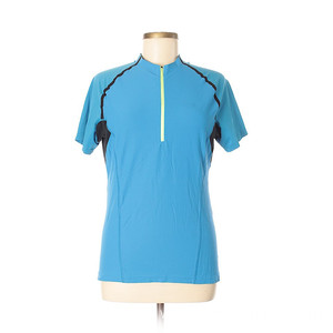 Free sample for for Running Clothes Lake blue short sleeve supply to Antarctica Factories