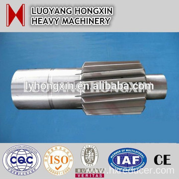 500mm-1000mm forged steel gear shaft for reducer machine