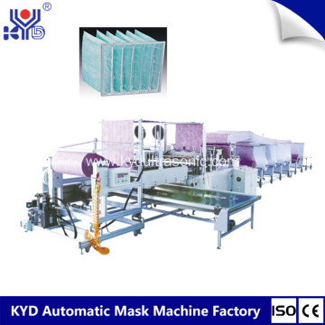 Hot Air Filter Bags Making Machine
