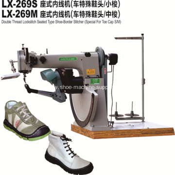 Middle Boots Shoe Border Sewing Machine