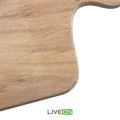 2pcs Solid Wooden Chopping Board Set