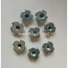 Full screw disc four-jaw nut