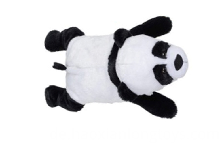 Giant panda plush pillow