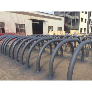 Schwing concrete pump curved straight pipe