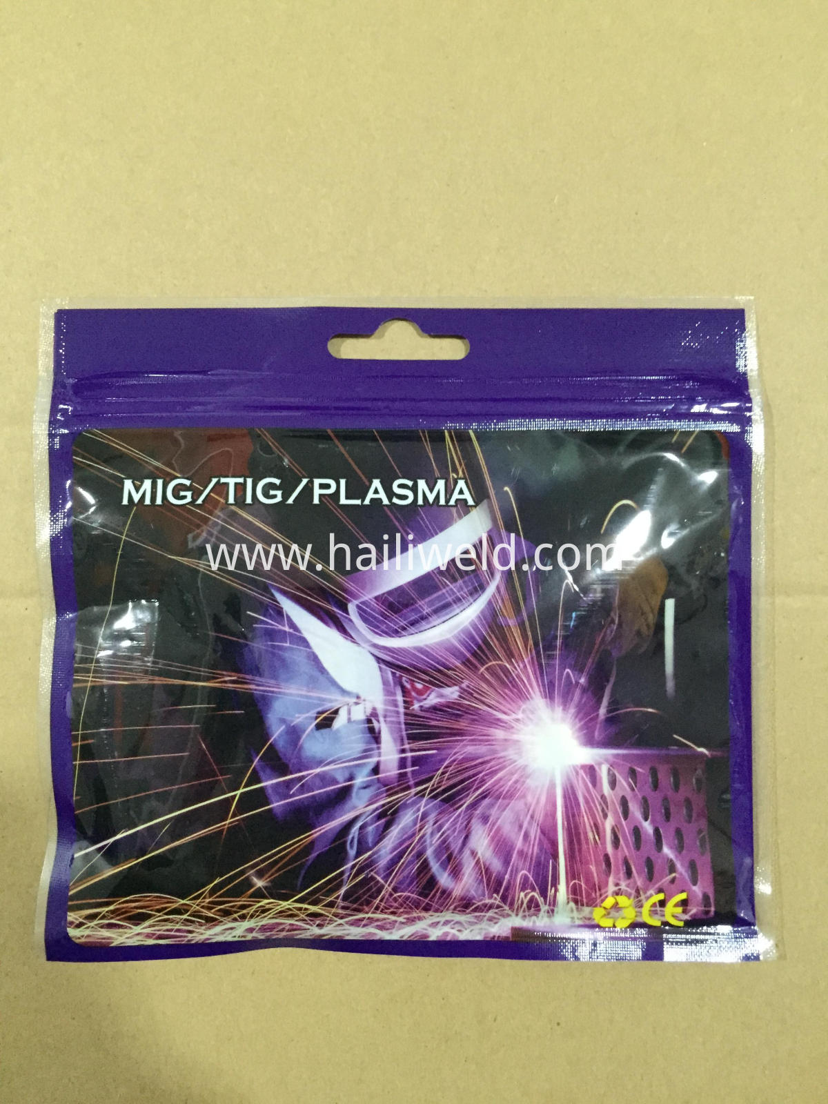 mig welding torch spare parts packing