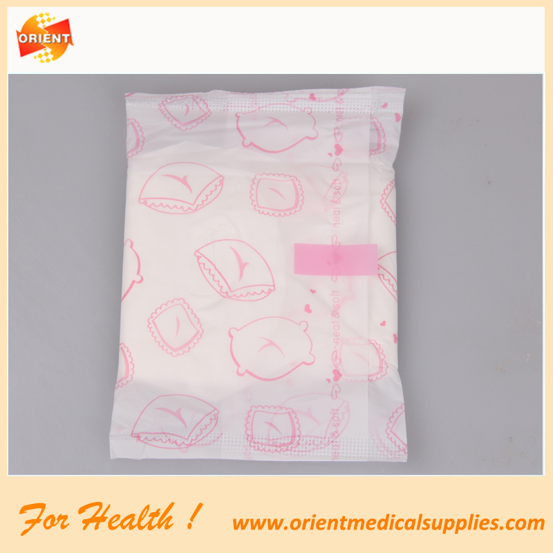 High Absorbent Cotton soft female sanitary napkin