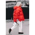 Girls' down puffer jacket