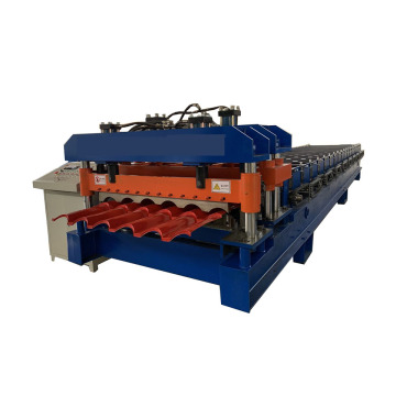 Agentina Metal Glazed Tile Roll Forming Machine