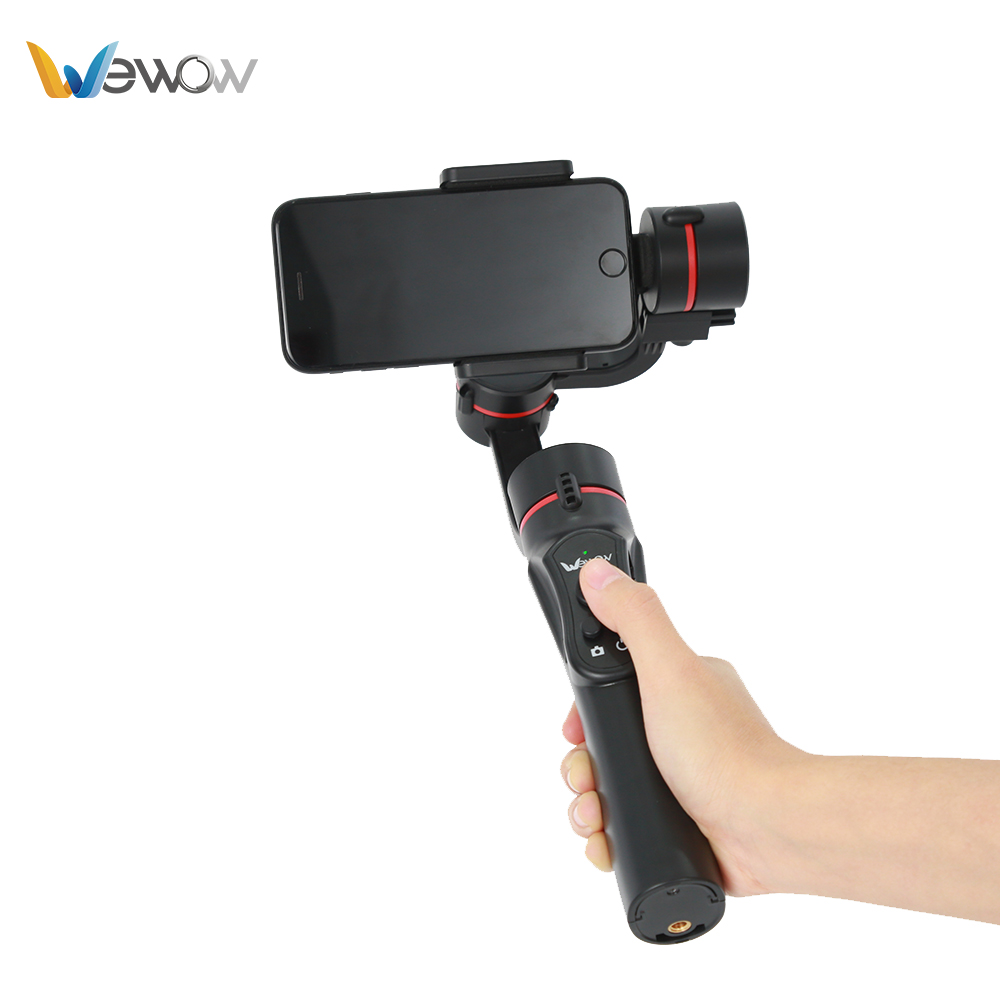 3-axis gimbal smartphone stabilizer