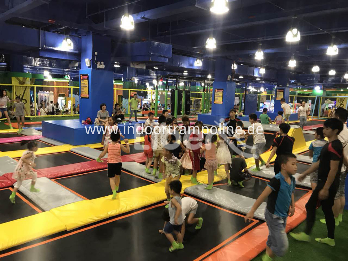 outdoor trampoline park for kids