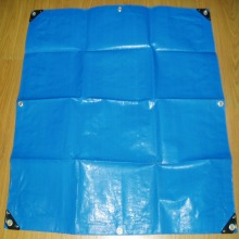 Pengobatan UV HDPE Tarpaulin Covers Outdoor
