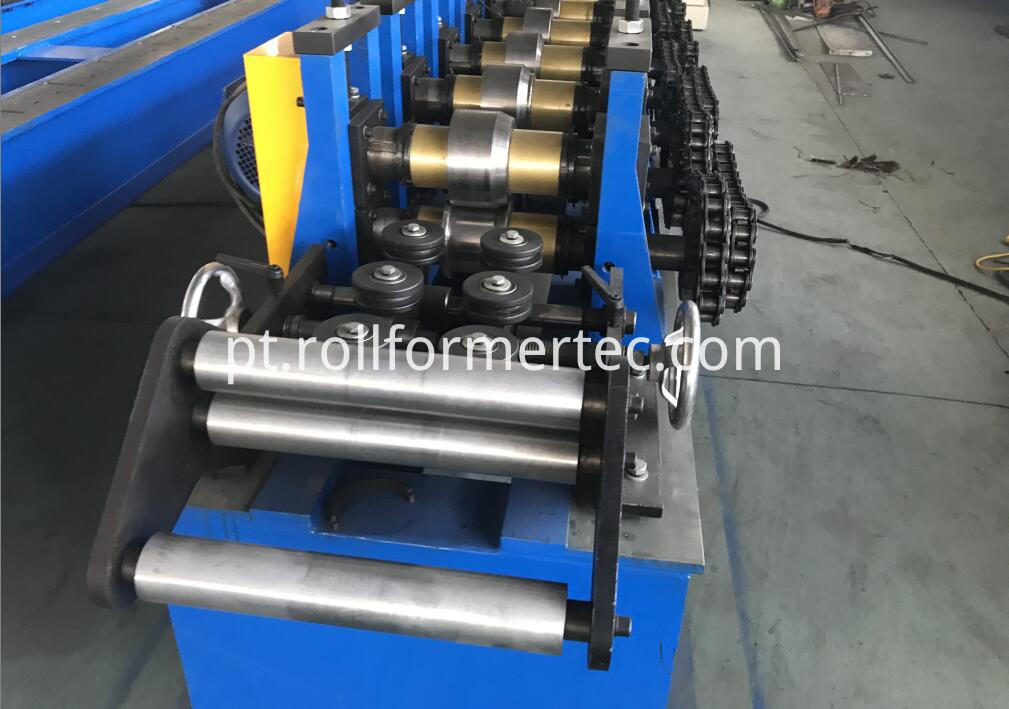 CD UD light steel stud and track rollformer