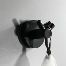 Bathroom Accessories Stainless Steel Black Coat Hook
