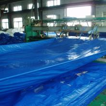 factory customized for Blue Poly Tarpaulin Blue color PE tarpaulin supply to Poland Exporter