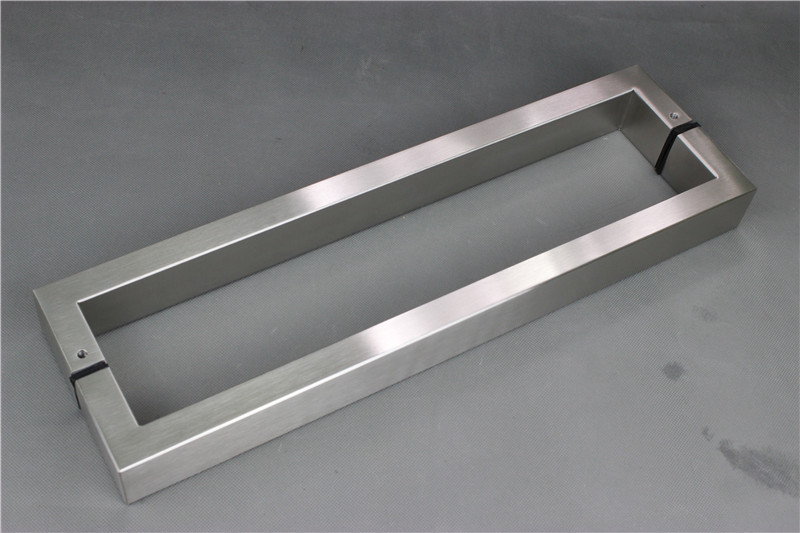Square Tube Door Pull Handle