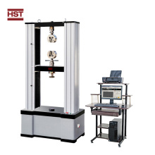 Tensile testing machine for steel wire rope