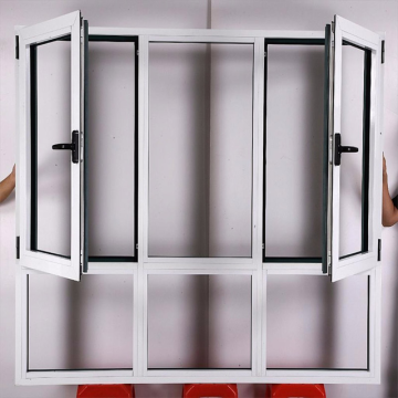 Lingyin Construction Materials Ltd factory powder coating Aluminum Casement Window factory sale