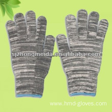 cotton gloves knitted string