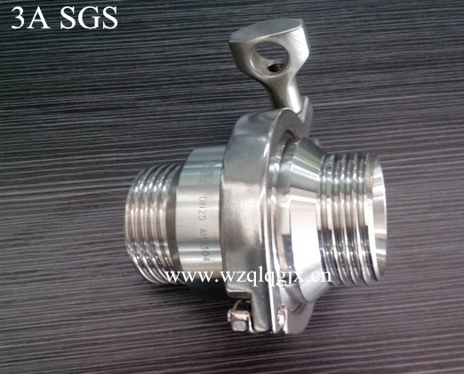 Stainless Steel Sanitary Male Threaded Check Valve