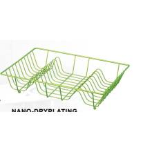 China for Kitchen Dish Rack Chrome Plate Drying Basket supply to Germany Manufacturer