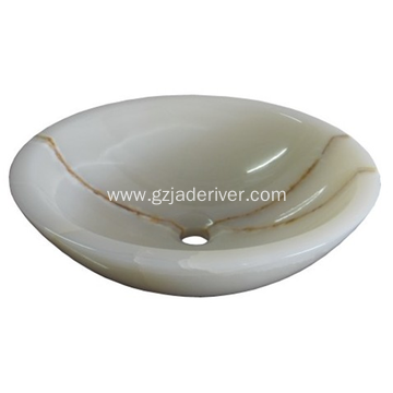 Luxury Jade Stone Wash Basin Bathroom Sink