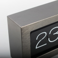 Giant Metal Box Flip Clock